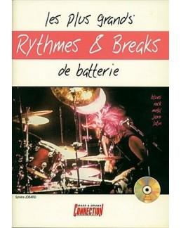 Les plus grands rythmes & breaks de batterie CD