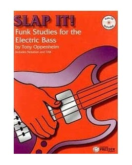 Slap it  Funk studies for electric bass OPPENHEIM CD