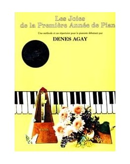 Les joies de la première année de piano CD Denes Agay
