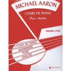 Cours de piano pour adultes AARON vol 1