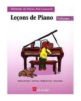 Leçons de piano HAL LEONARD 2