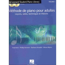 Méthode de piano adultes HAL LEONARD CD