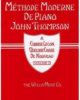 Méthode piano THOMPSON 2