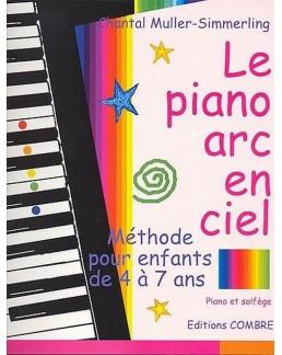 Le piano en arc en ciel