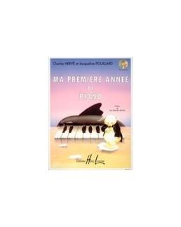 Ma première année de piano HERVE POUILLARD