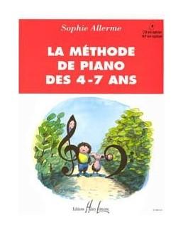 La méthode de piano des 4-7 ans ALLERME
