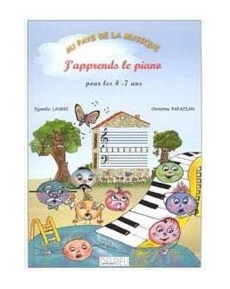 Au pays de la musique j'apprends le piano LASKRI PAPAZIAN