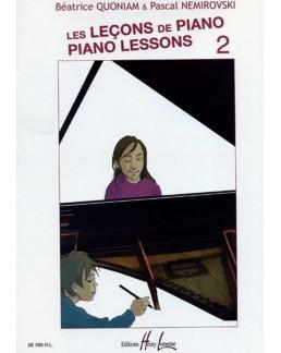 Leçons de piano QUONIAM NEMIROVSKI vol 2