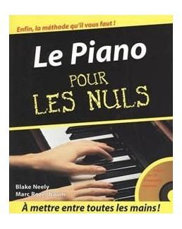 POUR LES NULS LE PIANO CD