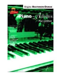 Piano pour adultes débutants vol 2 BOUTHINON DUMAS CD