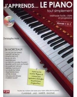 J'apprends le piano... tout simplement CD