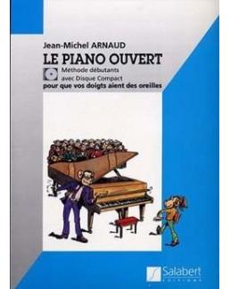 Le piano ouvert Jean-MicheL ARNAUD CD