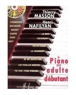 Le piano pour adultes débutant MASSON NAFILYAN 2 CD