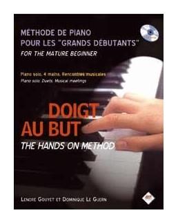 Méthode de piano pour les grands débutant DOIGT AU BUT CD