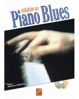 Initiation au piano blues + CD