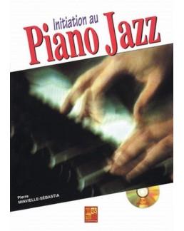 Initiation au piano jazz MINVIELLE CD