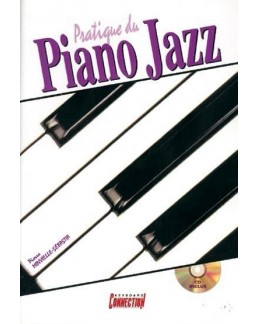 Pratique du piano jazz MINVIELLE CD