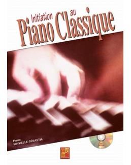 Initiation au piano classique MINVIELLE CD