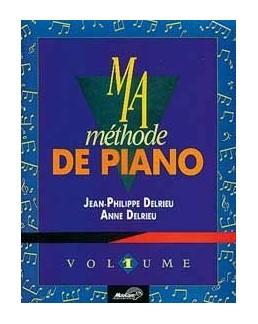Méthode de piano DELRIEU CD