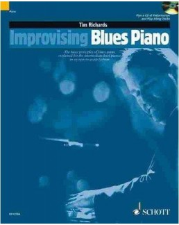 Improvising blues piano Tim RICHARDS CD