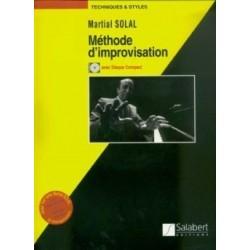 Méthode improvisation SOLAL CD