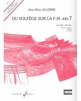 Du solfège sur la FM 440.7 lecture ALLERME