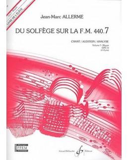 Du solfège sur la FM 440.7 chant ALLERME