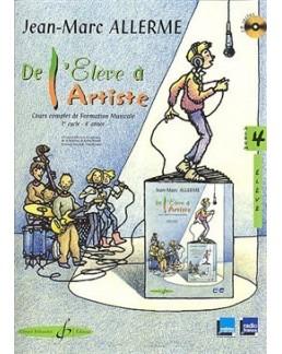 De l'élève à l'artiste ALLLERME vol 4 + CD