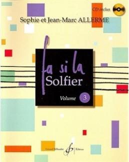 Fa Si La Solfier ALLERME vol 3 avec CD