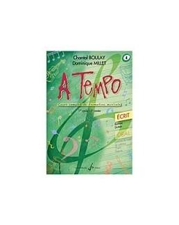 A tempo BOULAY MILLET écrit vol 4