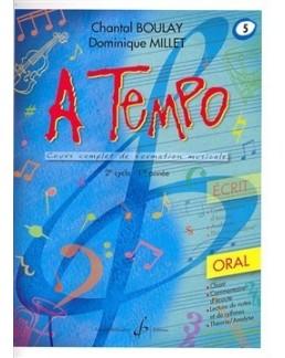 A tempo BOULAY MILLET oral vol 5