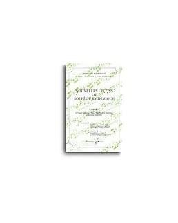 Nouvelles leçons de solfège rythmique BOURDEAUX vol 4