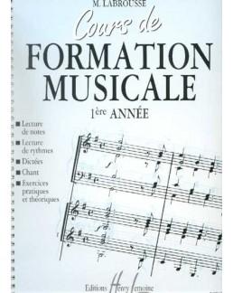 Cours de formation musicale LABROUSSE 1ère année
