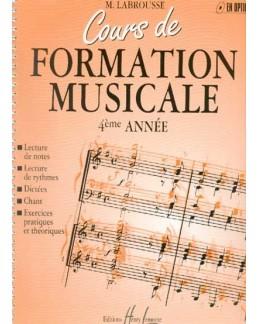Cours de formation musicale LABROUSSE vol 4