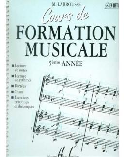 Cours de formation musicale LABROUSSE 5ème année