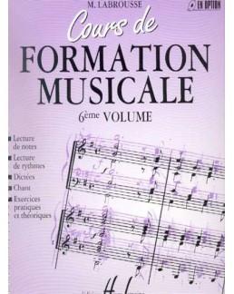Cours de formation musicale LABROUSSE 6ème année