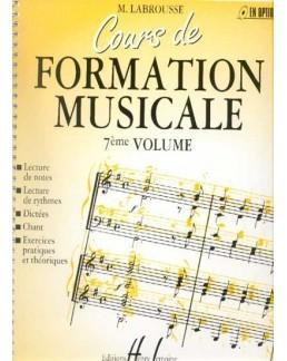 Cours de formation musicale LABROUSSE 7ème année