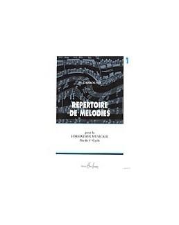 Répertoire de mélodies LABROUSSE vol 1