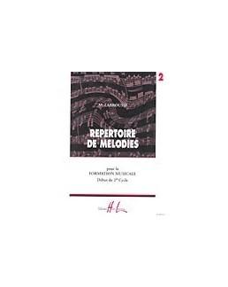 Répertoire de mélodies LABROUSSE vol 2