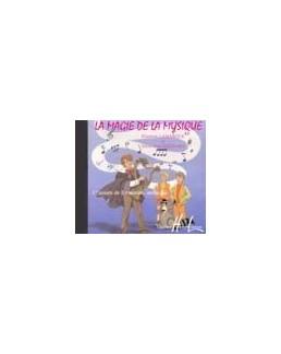 CD la magie de la musique LAMARQUE GOUDARD