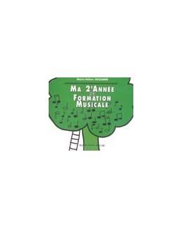 CD ma 2e année de formation musicale SICILIANO