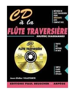 CD à la flûte traversière VILLETORTE