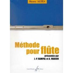 Méthode pour flûte ALTES