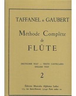 Méthode complète de flûte TAFFANEL & GAUBERT 2