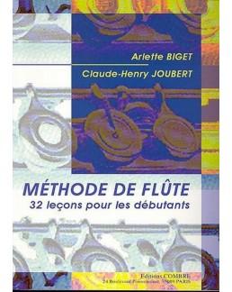 Méthode de flûte BIGET JOUBERT vol 1