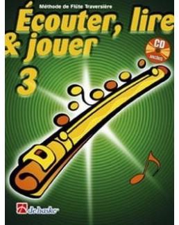 Ecouter, lire et jouer flûte traversière vol 3 avec CD