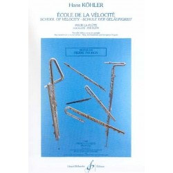 Ecole de la vélocité Hans KOHLER flûte