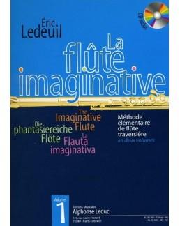 La flûte imaginative Eric LEDEUIL avec CD vol 1