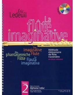La flûte imaginative Eric LEDEUIL avec CD vol 2