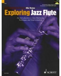 Exploring jazz flûte Ollie WESTON avec CD